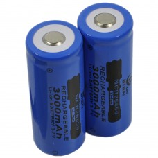 BTBAI 2X 14250 Battery Top Button 280mah li-ion Rechargeable 3.7V